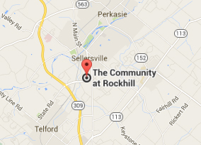 Map for Rockhill's location