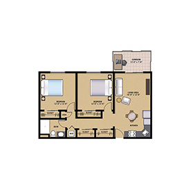 Oak Floor Plan Preview