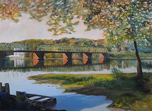 Addie Hocynec Bridge at New Hope