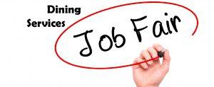 Dining Services Job Fair logo