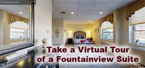 Personal Care Suite in Fountainview at Community at Rockhill